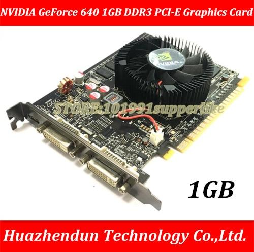 DEBROGLIE 1PCS NVIDIA GeForce 640 DDR3 PCI-E GT640 Graphics Video Card vg 86m06 006 gpu for acer aspire 6530g notebook pc graphics card ati hd3650 video card