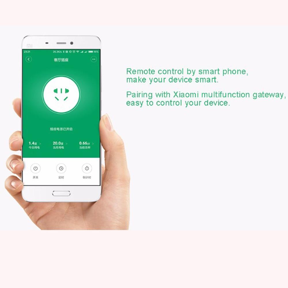 Xiaomi Smart Home Mijia Smart Plug Wifi Socket ZigBee APP Wireless ...