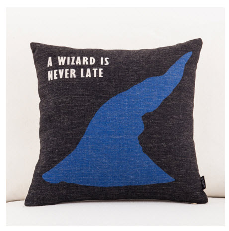 US $4 96 |Lord of the Rings Gandalf Witch Hat Emoji Throw Messager  Decorative Vintage Lumbar Pillows Cover Pillow Case Home Kid Gift-in Pillow  Case