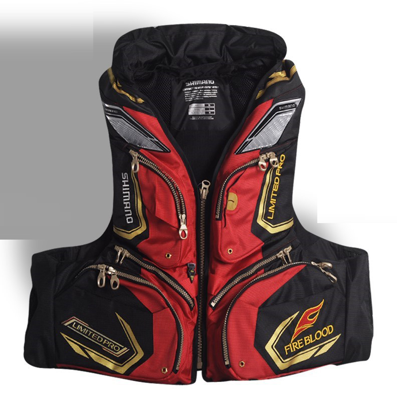 2017 Fishing Jacket Fly Fishing Vest Jacket Sea Outdoor Sports Multi-pocket Deaigned For Professional Amateur Fisherman professional multi pocket fly fishing vest sleeveless waterproof life rescue jacket outdoor photography clothing sea wear shirts