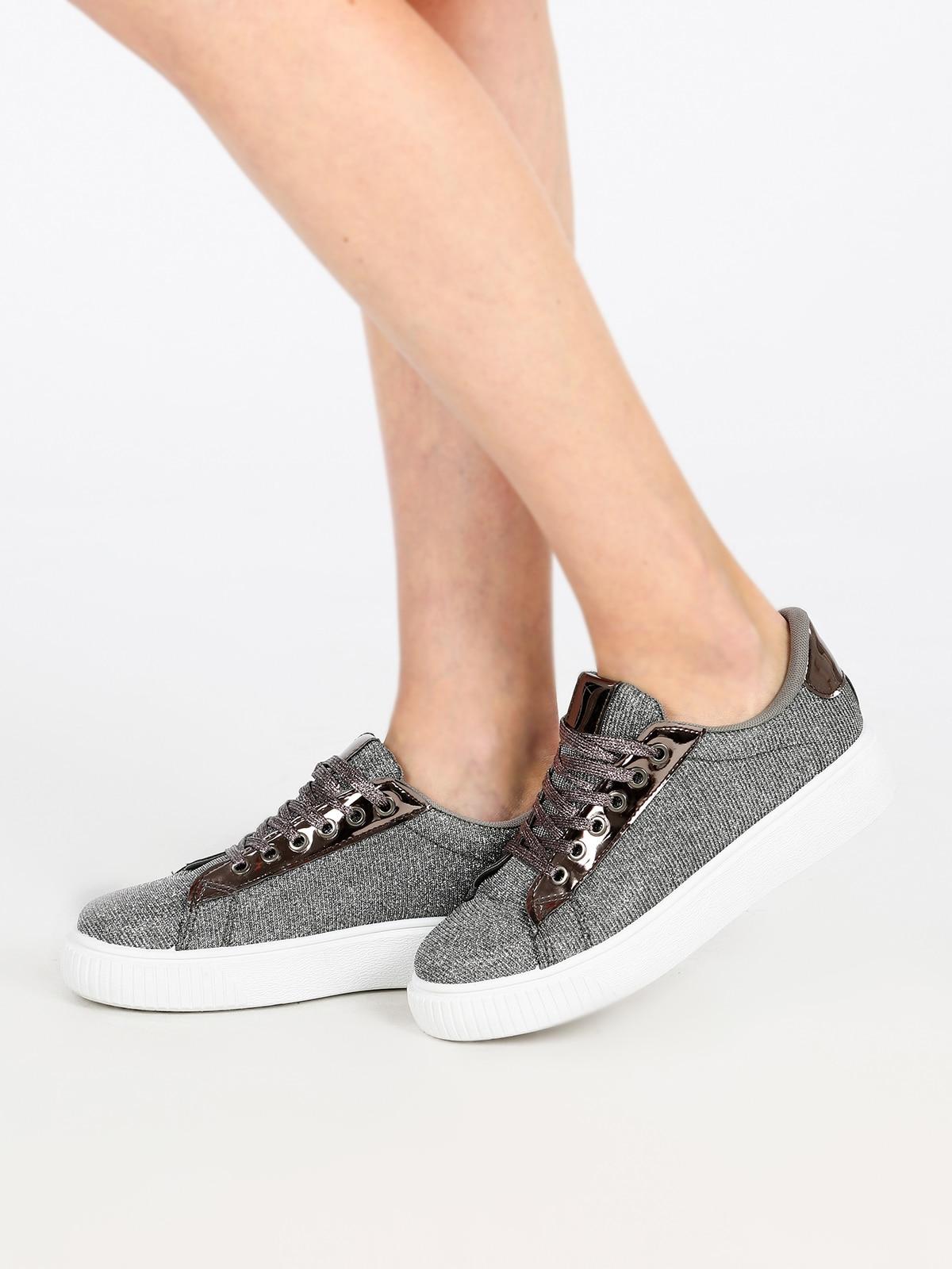 Low Sneakers Lurex