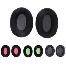 лучшая цена 1 Pair Replacement Earpads Ear Pads Case Cusion Covers for Kingston Hyper X Cloud II KHX-HSCP-GM Game Headsets Headphones