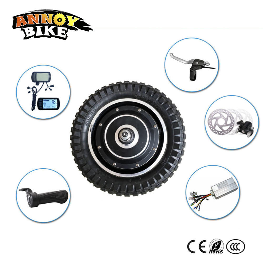 12 inch motor wheel for scooter 36v 250W/350W bicicleta electrica hub motor kits electric bike kit with bicycle accessories g force g1 250w 5 inch foldable electric scooter with maple deck only 7 8kg