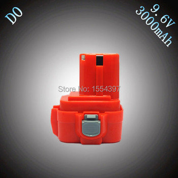 SALE 3000mAh Ni-Mh Replacement for Makita 9.6V Power Tool Rechargeable Battery Packs 9100 9101 9122 9120 PA09 6207D 6226D ML903 plastic