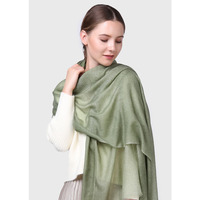 2017 Autumn Winter New 200 S Solid Color Hand Spray Print Women Wool Shawls Cashmere Blanket