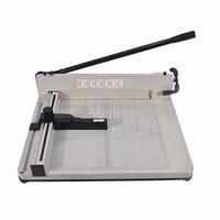 Desktop Stapel Papier Cutter Guillotine 858-A3 größe papier Schneiden Maschine max breite 40mm