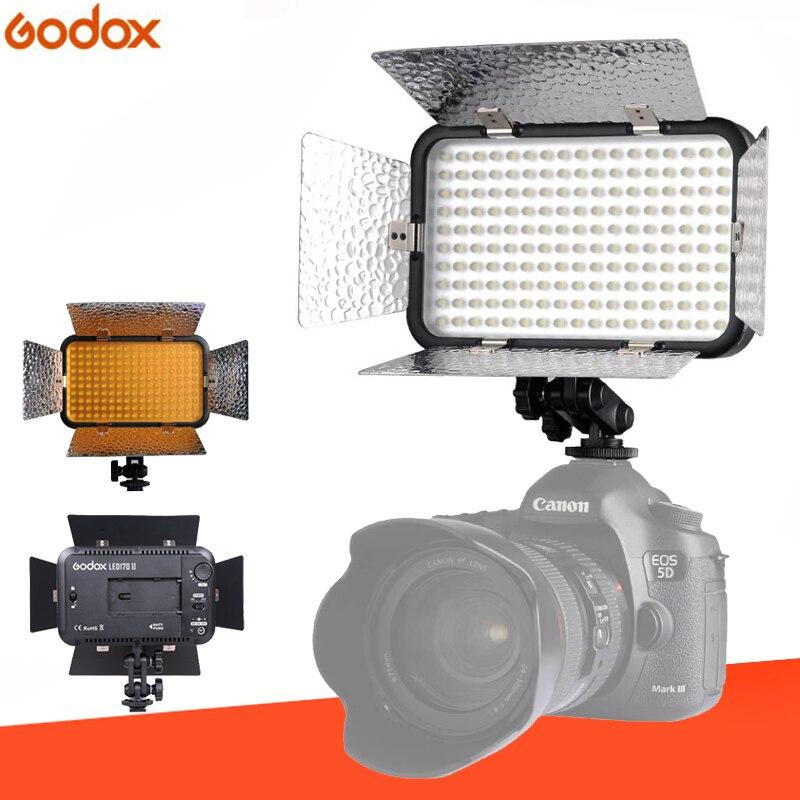 Éclairage photographique Godox LED 170 II lampe vidéo lumière 170 II LED pour appareil photo numérique caméscope DV