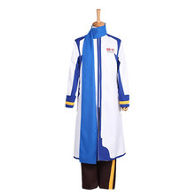Vocaloid hatune miku KAITO cosplay costume halloween case closed detective conan kaito kid gentleman thief white suit cosplay costume with hat glass