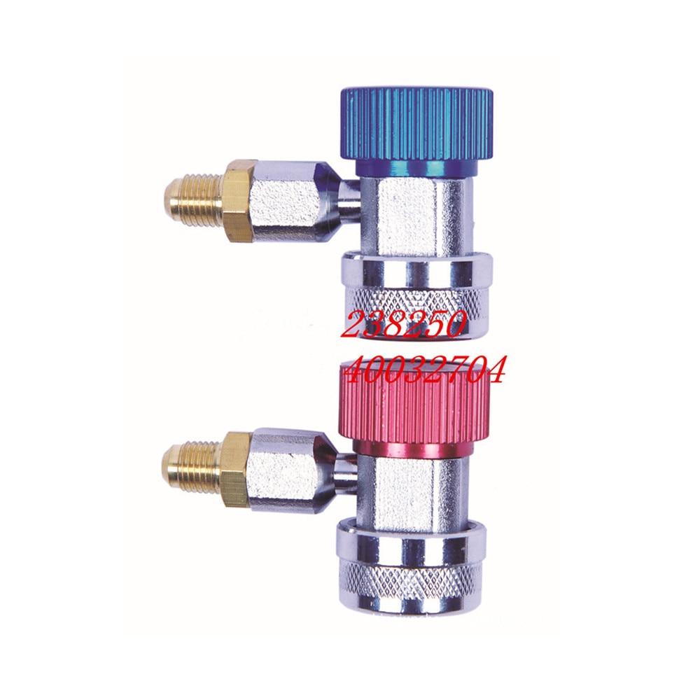 Connecteur pour le remplissage réfrigérant du climatiseur automobile R134A  configurateur rapide réfrigérant R134A|air conditioning refrigerant|134a refrigerant|refrigerant 134a - title=