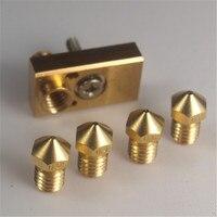 Funssor UM2 Ultimaker 2 Extended 3D printer parts For Ultimaker 2 Olsson block kit nozzle interchangeable nozzle kit