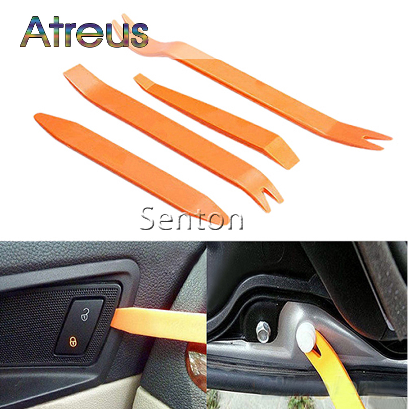 Car Audio Door Removal Tool for Abarth Ssangyong Kyron Rexton Korando Fiat 500  Lifan x60 Chery Tiggo Accessories For Lada Saab car rear trunk security shield cargo cover for ssangyong rexton ii w 2008 2017 high qualit black beige auto accessories