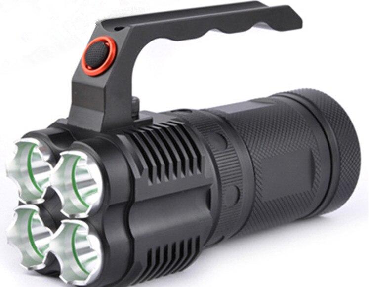 ᑐPortable Searchlights Lighting Lamp Flashlight Charging 4000