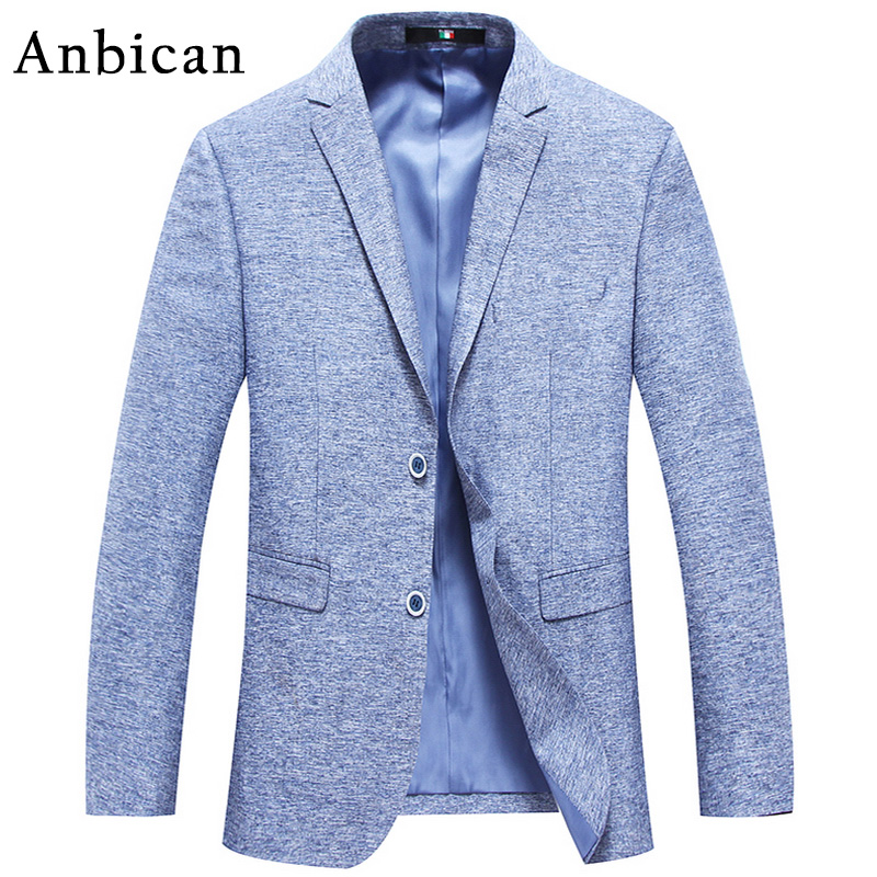 Blazers And Jackets: Anbican 2017 Spring And Summer Blazer Men Slim Fit Casual