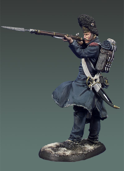 Free Shipping 1/32 Scale Unpainted Resin figure Napoleonic