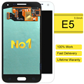 2 unids piezas originales de teléfono móvil para samsung e5 sm-e500f pantalla lcd de pantalla táctil asamblea digitize oferta especial rushed