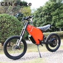 2018 New Design 72v 8000w Enuro Ebike Electric Motorcycle Mountain Bike