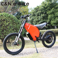 2018 New Design 72v 8000w Enuro Ebike Electric Motorcycle Mountain Bike