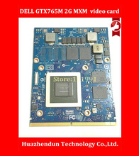 Original GTX 765M GTX765M 2GB Video Card for D e l l Alienware M15X M17X M18X