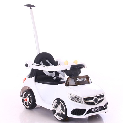Multifunctional Children Electric Car Electric Putter Combo Toy Baby Hands Can Take Remote Control Cars