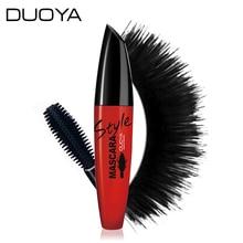 DUOYA Eyes Makeup 3d Fiber Lashes Mascara To Eyelashes Waterproof Curling Thick Black Ink For Lashes Korea Cosmetics