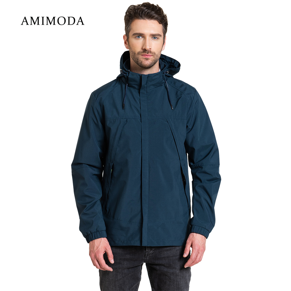 Jackets Amimoda 10026-03 Men\'s Clothing windbreakers for men  cloak jacket coat parkas hooded jackets amimoda 10013 0208 men s clothing windbreakers for men cloak jacket coat parkas hooded