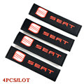 Seat belt cover car styling pure cotton for Seat Leon Ibiza Altea Belt Racing  accessories Car-styling