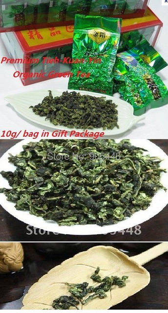 2014 Spring  500g (1bag= 10g ) Premium Organic AnxiTieh Kuan Yin Tea Chinese Oolong Tea in Small bag Green Tea Free Shipping