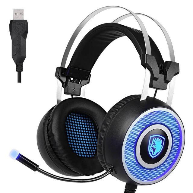 Binmer Calidad Superior SADES A9 Stereo Surround Gaming Headset Diadema Micrófono Auriculares Fones de ouvido ST19
