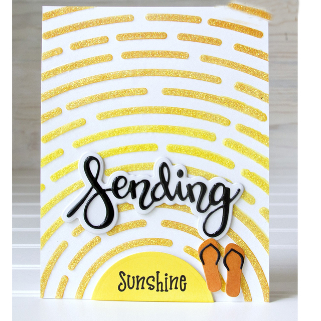 rise shine stencil for diy scrapbooking new 2018 diy paper cards