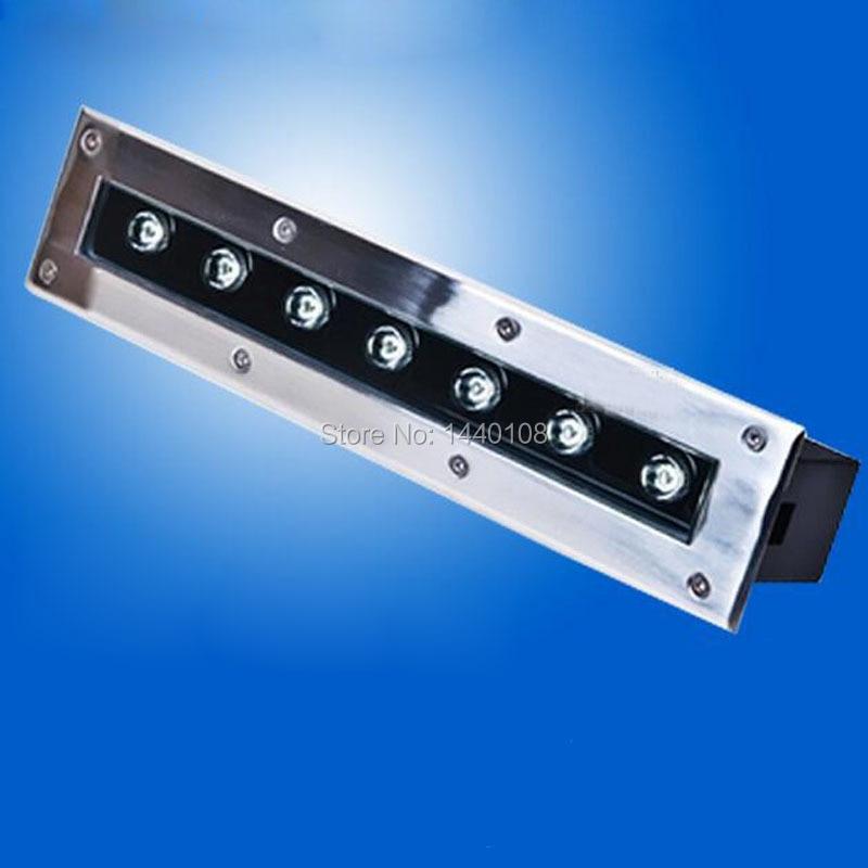 ФОТО 3pcs/lot New 7W rgb LED Underground Lamp AC85-265V outdoor Waterproof IP65 Spot Floor Garden Yard LED inground light floor light
