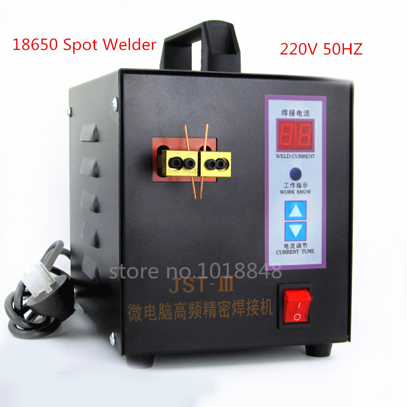 Trustful 220v Updated Version Of Welding High-power Welder Battery Spot Welder Microcomputer Control Points With Gifts
