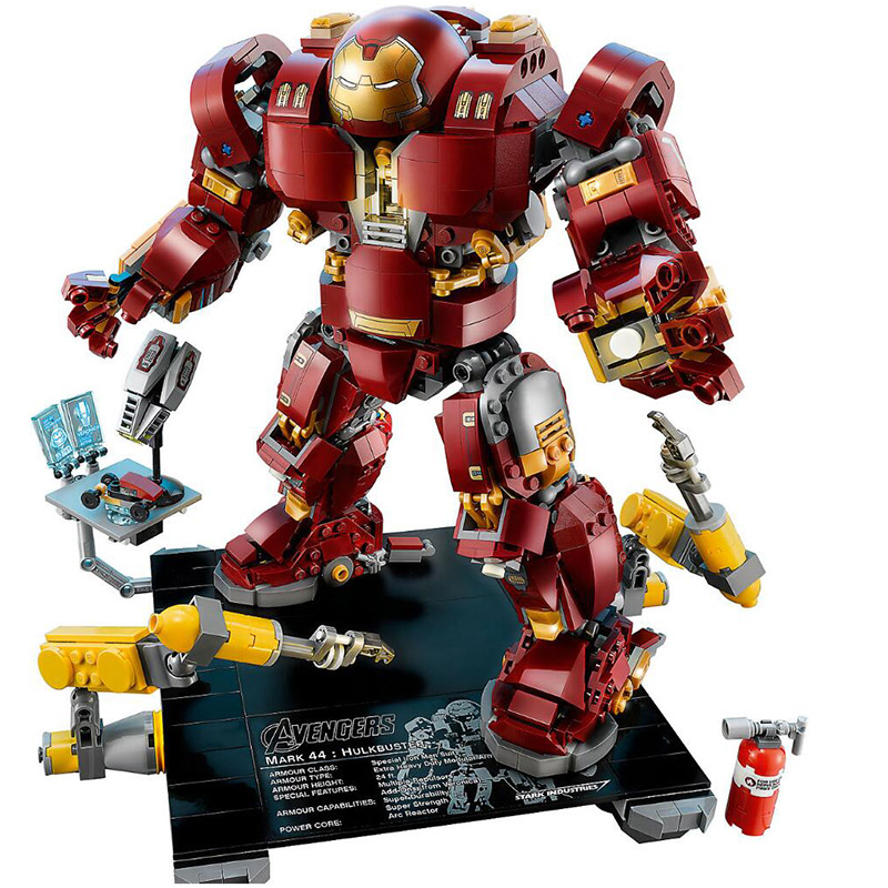 Здесь продается  Avengers Marvel Super Heros Compatible with Legoings 76105 Iron Man Anti Hulk Mech Toys For Kid Building Bricks Blocks Model  Игрушки и Хобби