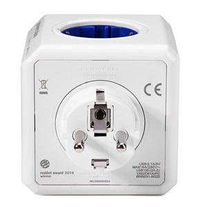 Image 4 - Allocacoc prise ue Powercube prise électrique USB prise ue multiprise multiprise adaptateur adaptateur de voyage usage domestique intelligent