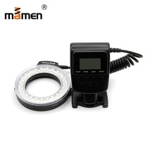 Mamen Photography Lighting Camera Ring Flash Light 1500K-3000K 5-15cm Range For Canon Sony SLR DSLR Speedlite
