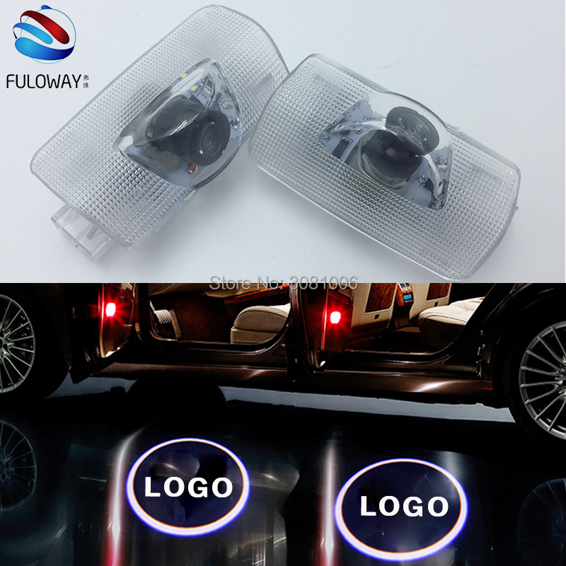 For Toyota Crown Camry Corolla Sienna Verso Prado LED Welcome Car Door Courtesy Shadow Logo Lights Projector Laser Ghost Shadow custom fit car floor mats for toyota camry corolla prius prado highlander verso 3d car styling carpet liner ry55