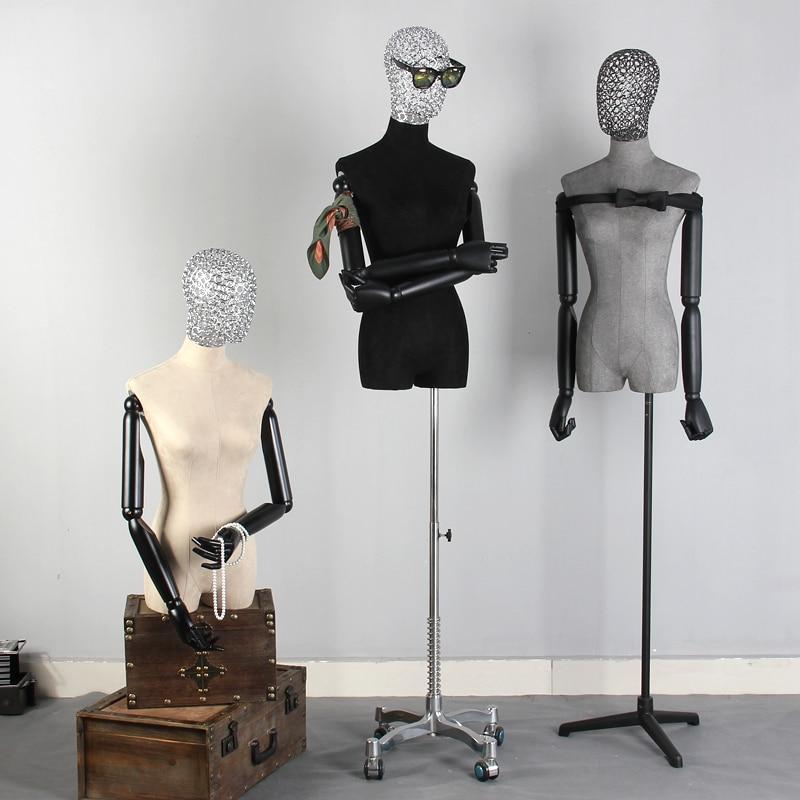 Halblanger Stoff des hohlen Kopfes des menschlichen Körpers stützt - Kunst, Handwerk und Nähen - Foto 2