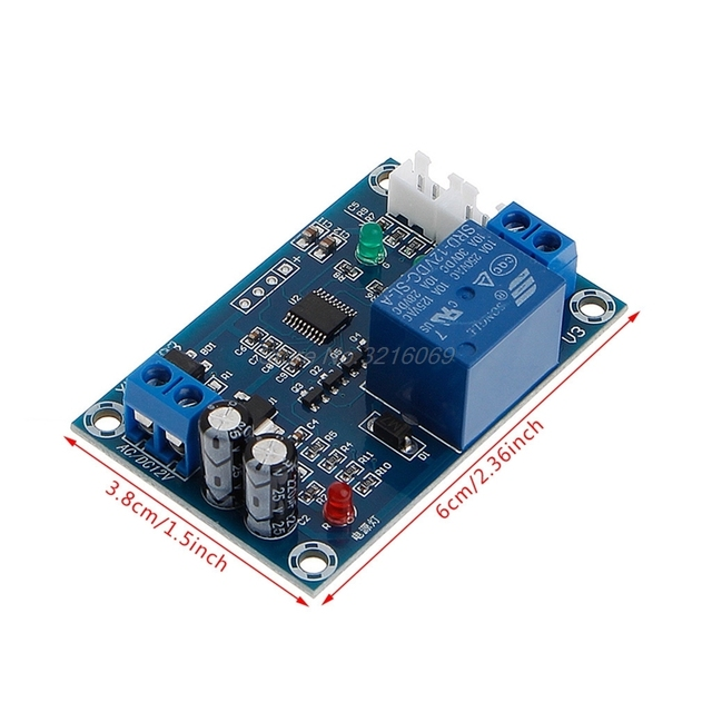 XH-M203 Full Automatic Water Level Controller Pump Switch Module AC/DC 12V Relay Aug24 Whosale&DropShip