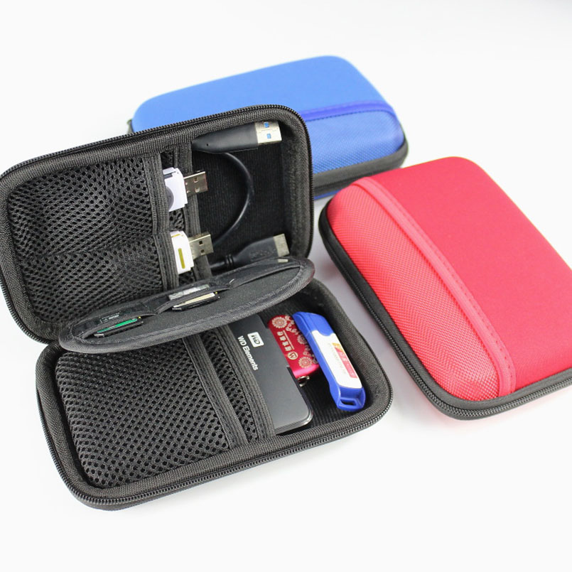 Electronic Accessory Travel USB Data Line Sundries Storage Bag Cable Insert Flash Drives Organizer for Easy Travel Portable Bags