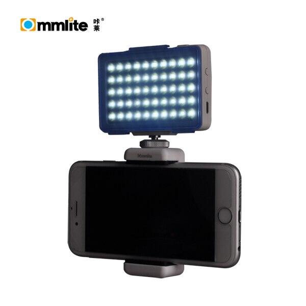 Original Commlite CoMiray CM-L50 Mini LED Video Light for Cellphone Gopro camera