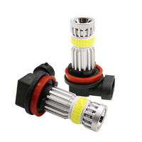 2800lm Xtreme Super Bright H11 H7 LED Bulbs Fog Light High Illumination COB+Cree Chip LED 9005 Bulb H8 H16 H11 Fog Lights Lamp