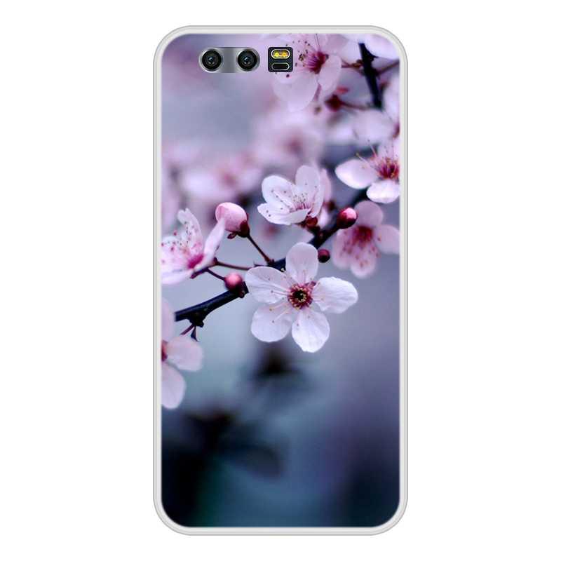 Untuk Huawei Honor 10 9 8 7 Lite TPU Silikon Lembut Kucing Lucu Dicat Kembali Menutupi untuk Huawei kehormatan 7A 7C 7S 7X8 Pro Case