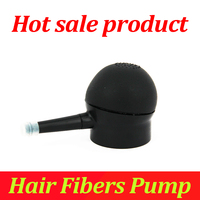 Hot Sale Products Hair Building Fibers Powder For Thinning Hair Applicator Pumps Black Color Hair Accessory