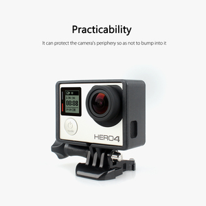 Image 5 - Vamson for Go pro Accessories Standard Protective Plus Frame Tripod Mount Base Screw for GoPro Hero 4 3+ 3 Camera VP613