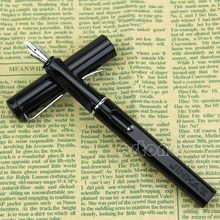 Noblest Jinhao 599A Safari Calligraphy Fountain Pen Plastic Cap & Barrel Black W15
