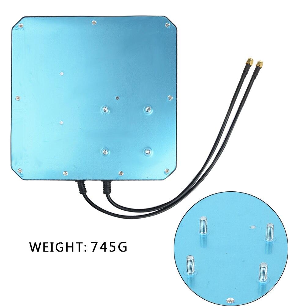 Image 4 - 2 * 22dBi наружная 4G LTE MIMO антенна, LTE двойная  поляризационная панельная антенна SAM Male разъем-in Антенны для связи  from Мобильные телефоны и телекоммуникации on