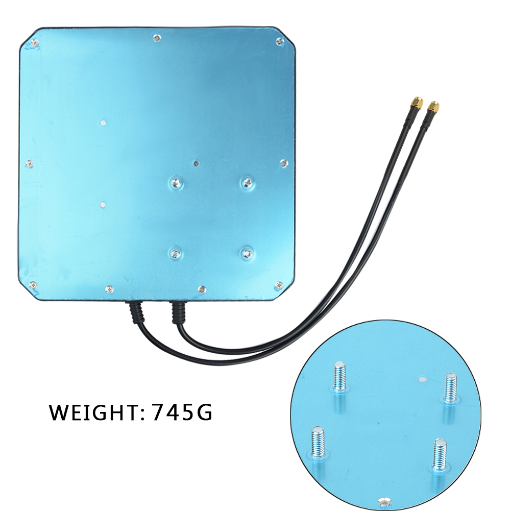 Image 4 - 2*22dBi outdoor 4G LTE MIMO antenna,LTE dual polarization panel 