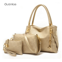 Sac A Main Gold Women Bag Luxury Brand Bag Women Shoulder Bag Female Messenger Bag Handbag