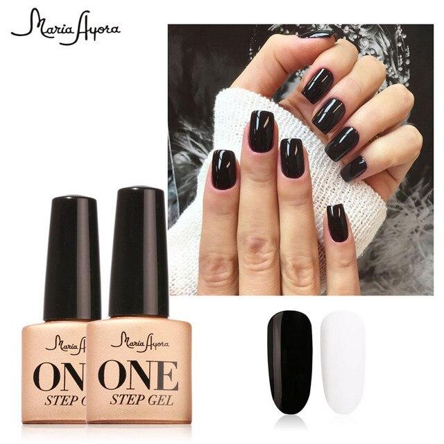 Gel Manicure Matte Black – Papillon Day Spa