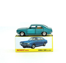 Dinky Toys Atlas 1409 1/43 SIMCA 1800 Pre-serie Hot Alloy Diecast Car Model  Collection for Children Adult Wheels