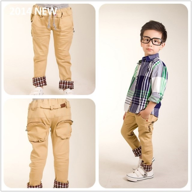 Boys Khaki Cargo Pants Promotion-Shop for Promotional Boys Khaki ...